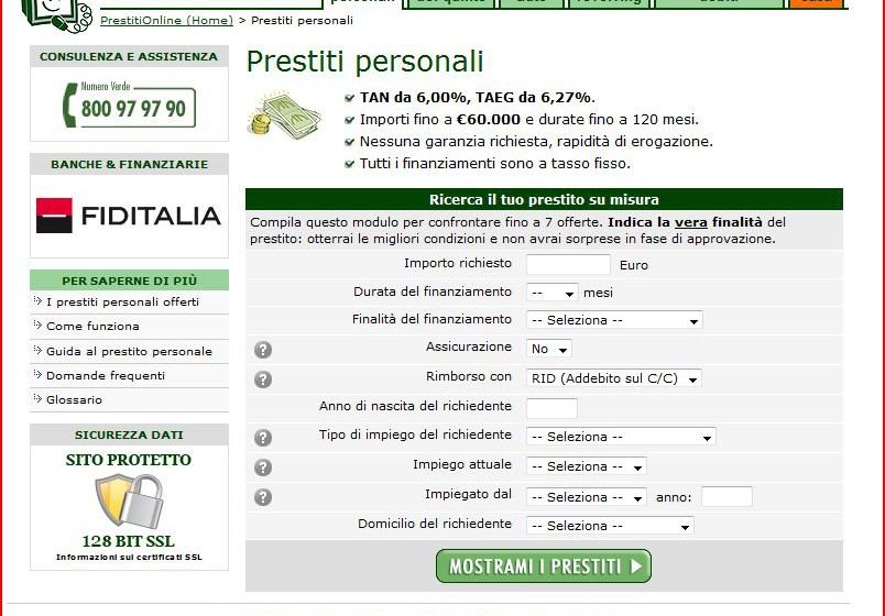 Prestiti online.it