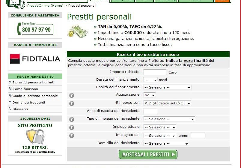 Prestiti online.it